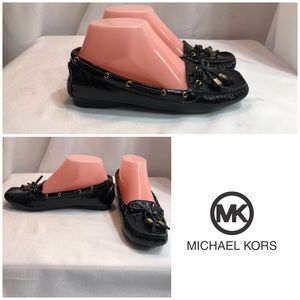 Used Michael Kors Black Leather Loafers